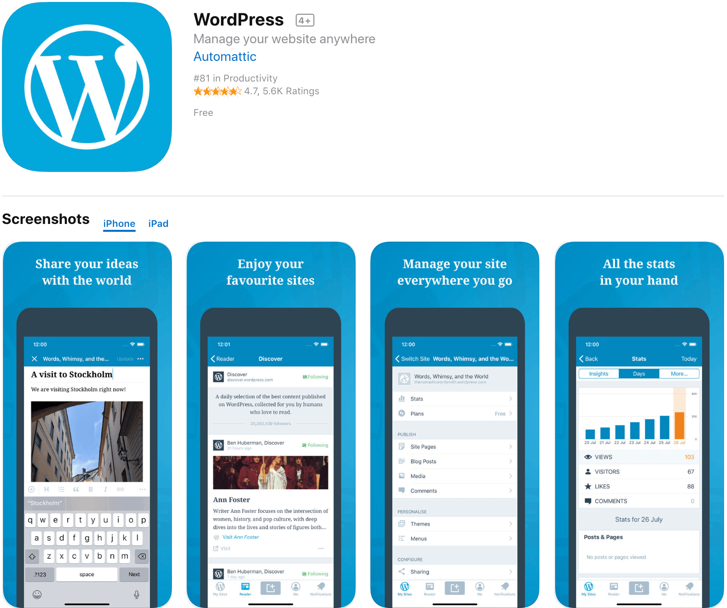Marketing Apps WordPress