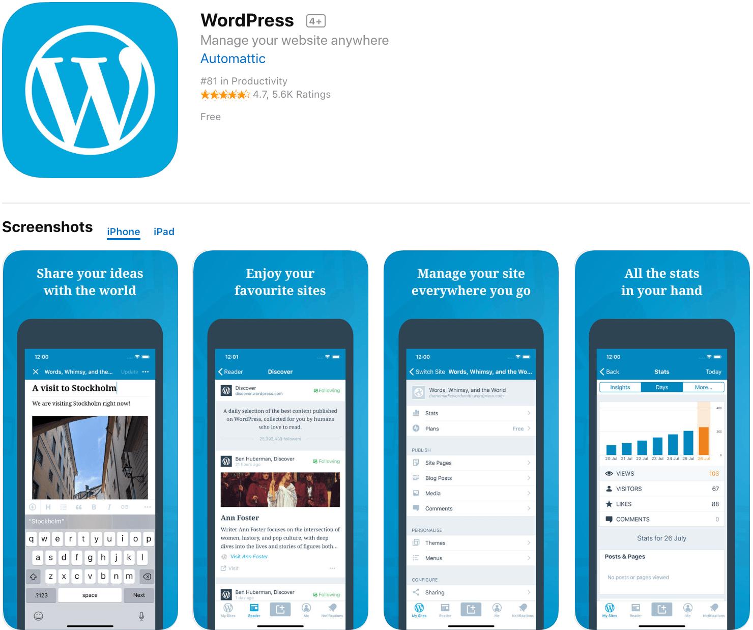 Marketing Apps WordPress