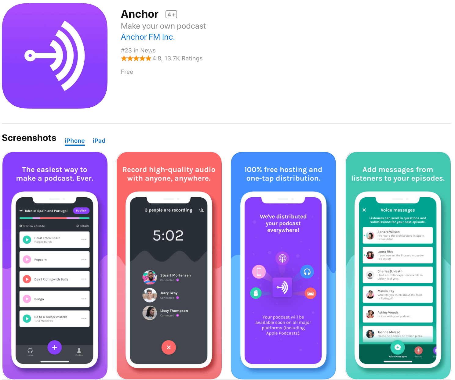 Marketing Apps Anchor