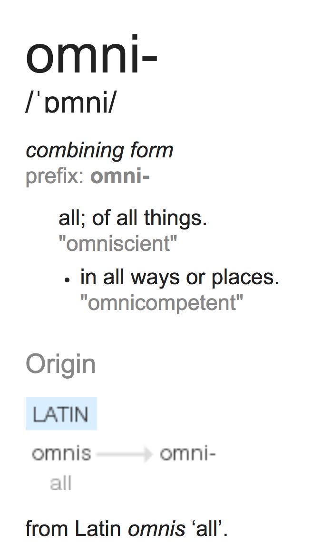 Omnichannel Definition