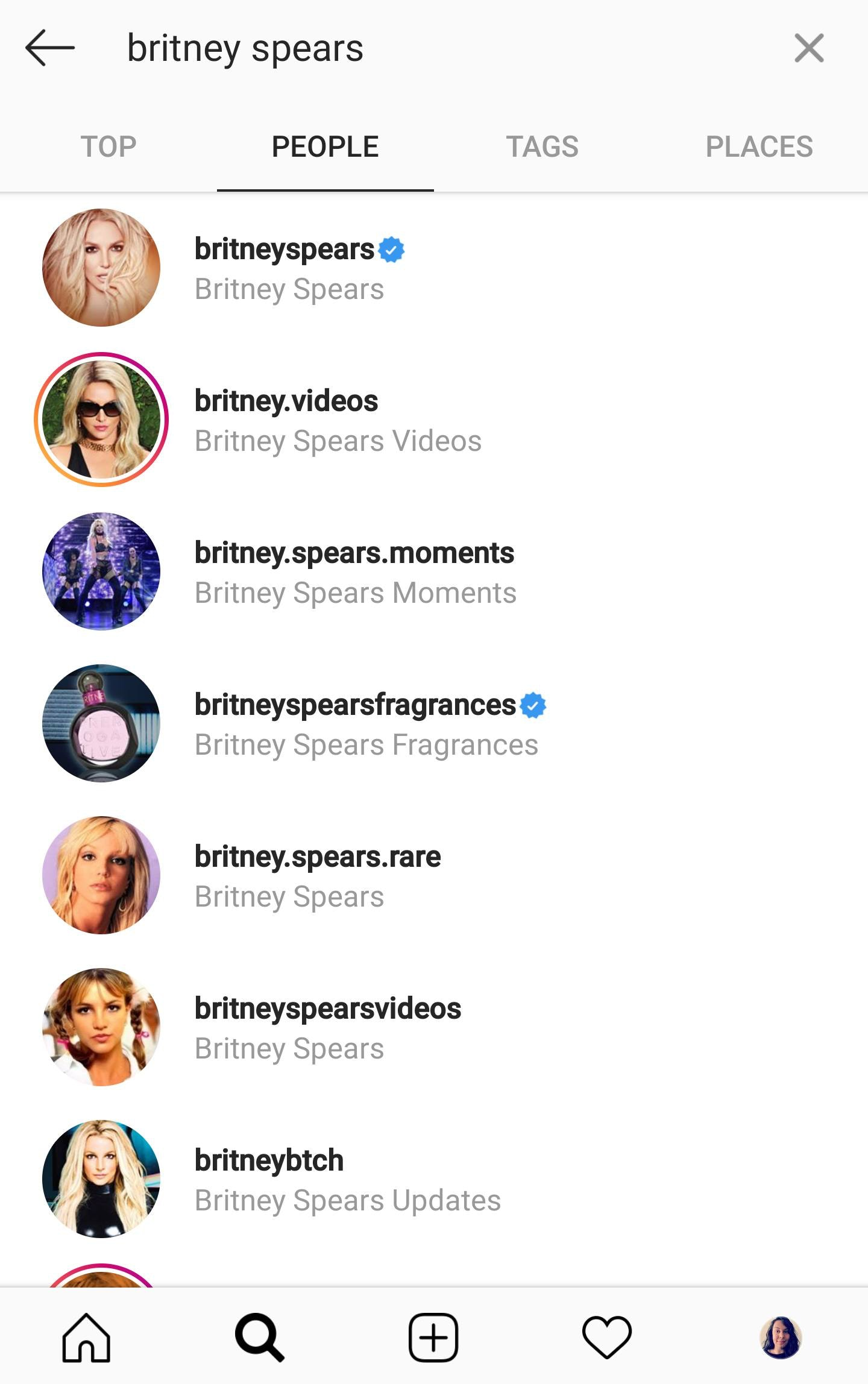 instagram search name people