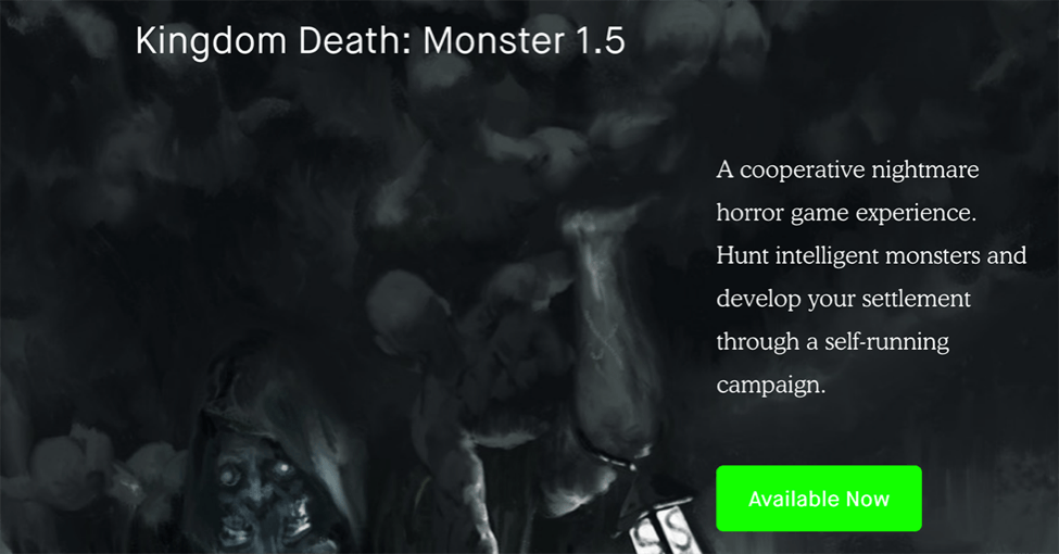 4. Kingdom Death: Monster 1.5