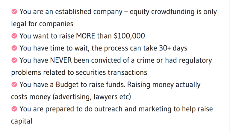 equity crowdfunding ability