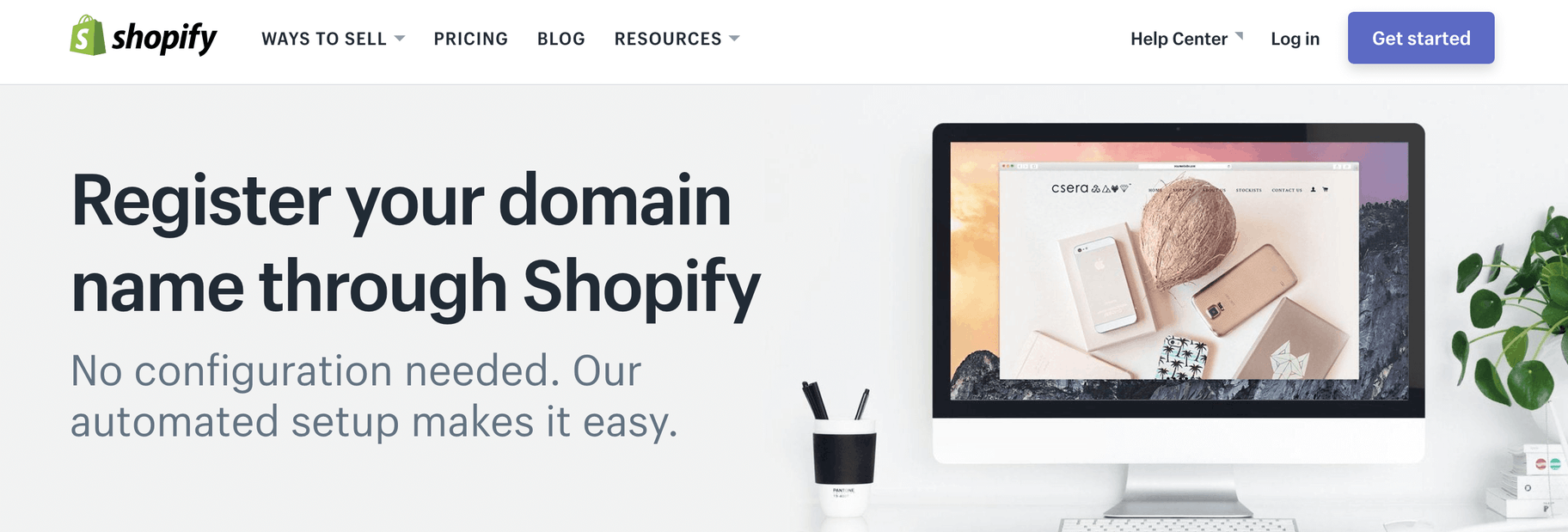 Shopify Domain Registration
