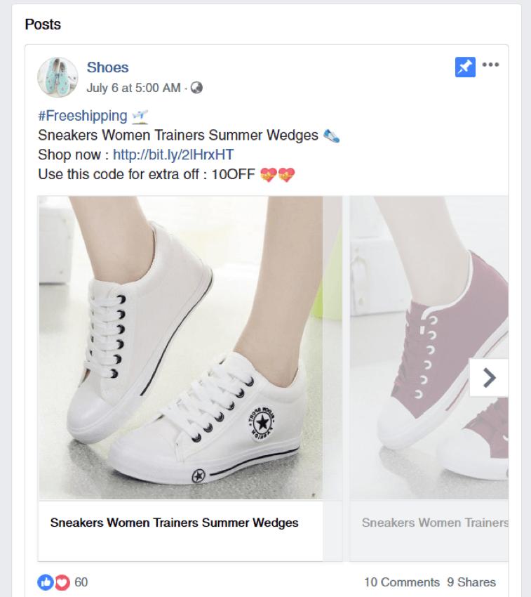 affiliate facebook marketing