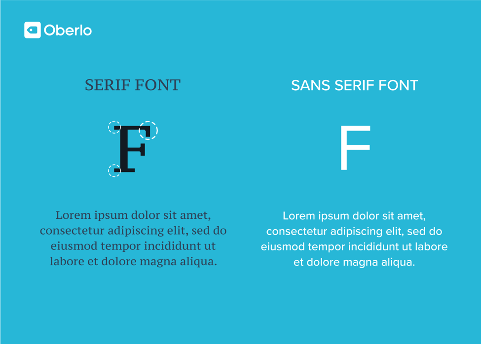 font choice matters for blogging