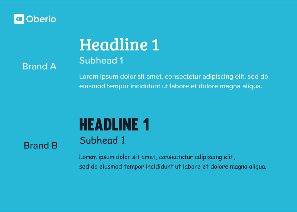 font choice and readability