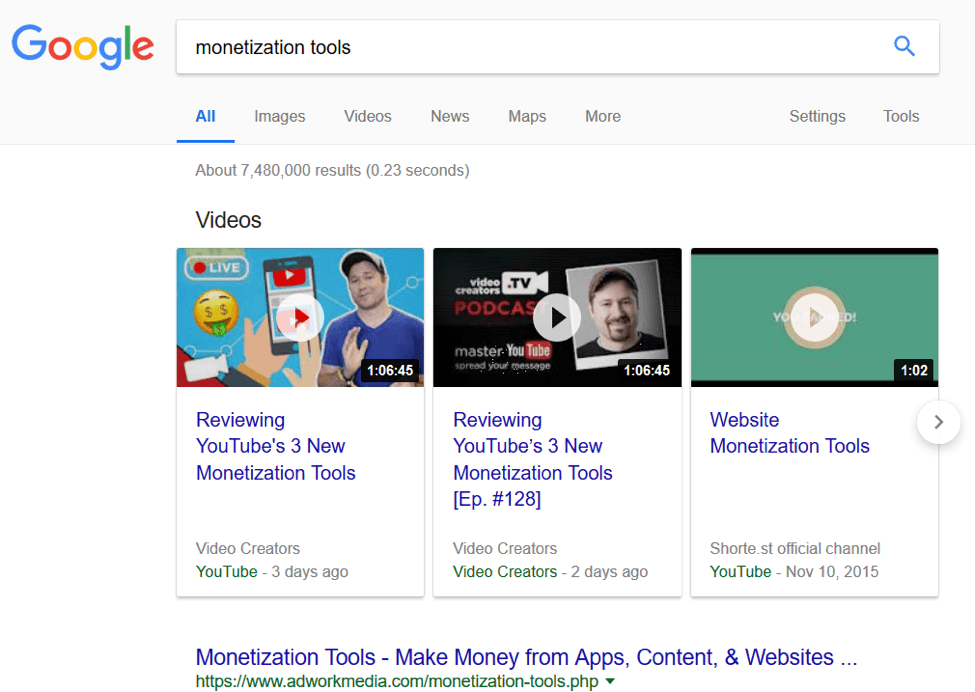 monetization tools