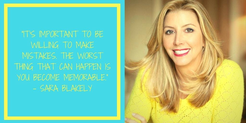 Famous Failures Sara Blakely