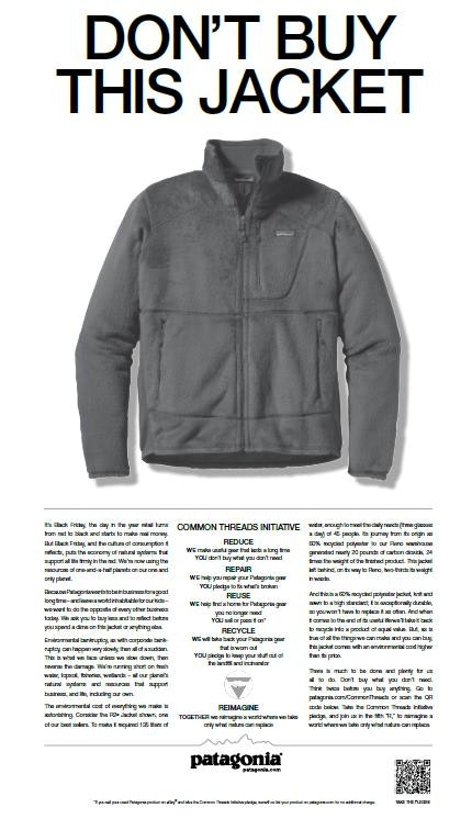 Patagonia Customer Relations