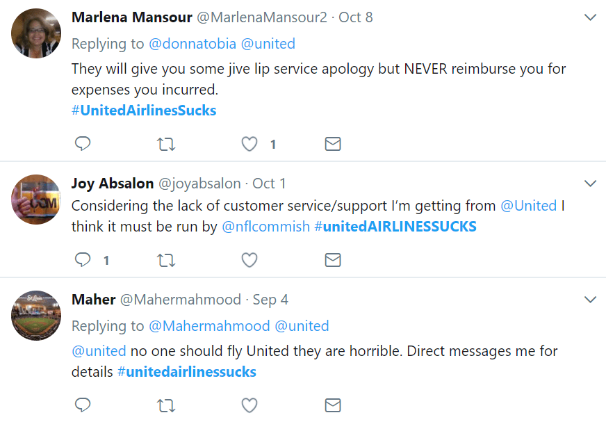 United Airlines Customer Relations