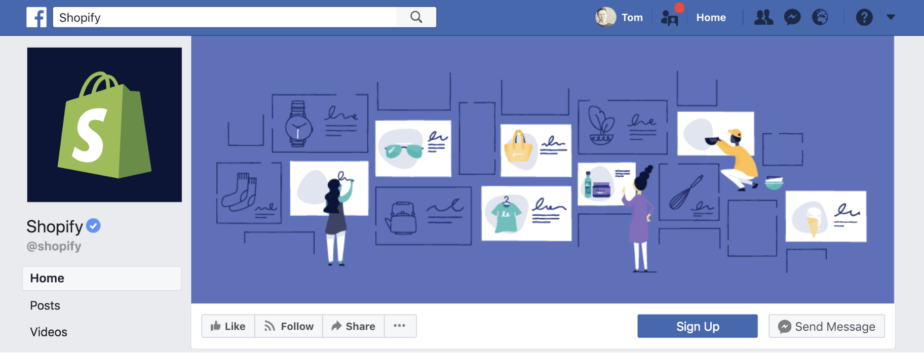 Facebook Business Page Shopify