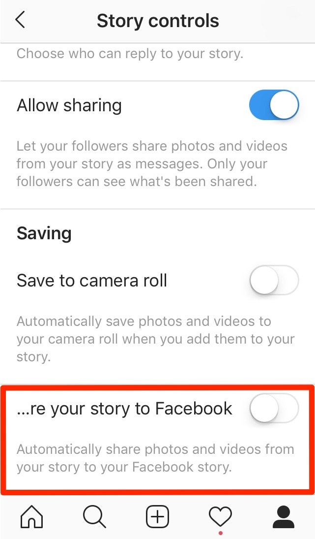 Share Your Instagram Story to Facebook