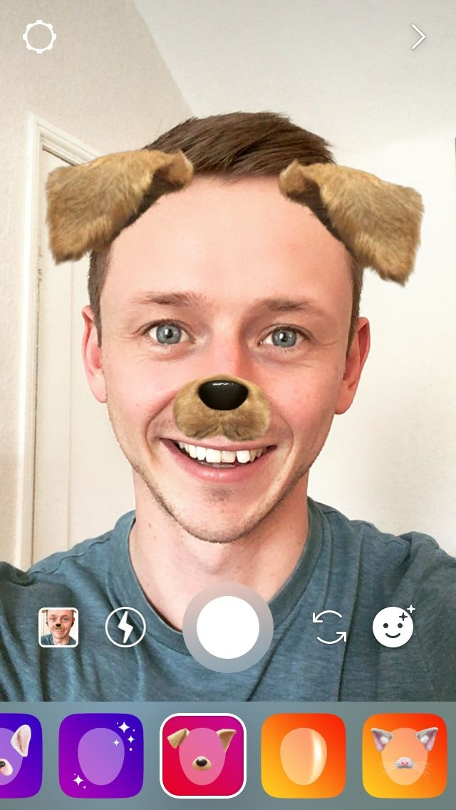 Instagram Stories Face Filter