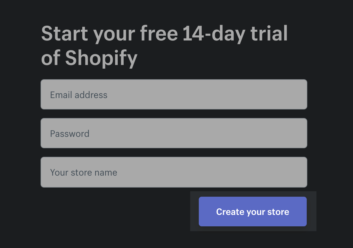 make money online from home with shopify