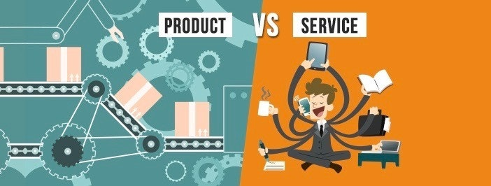 product vs service home based business idea