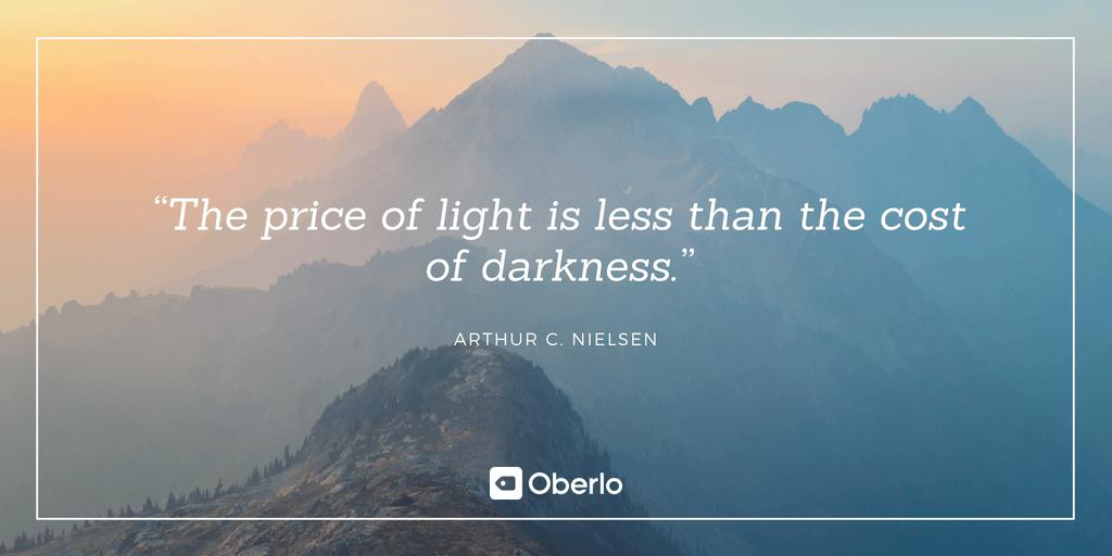Arthur C. Nielsen Quote