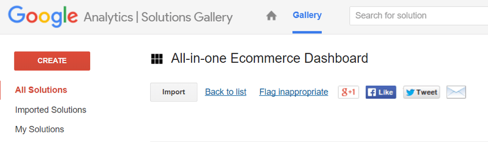 navigate ecommerce google analytics