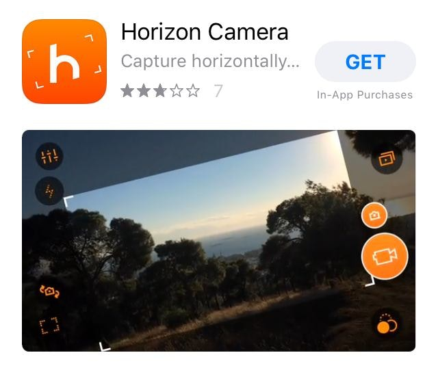 Horizon Video Editing App