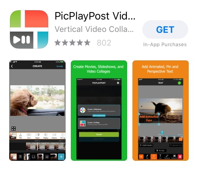 PlayPicPost Video Editing App