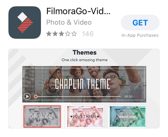 FilmoraGo Video Editing App