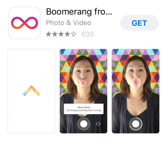 Boomerang Video Editing App