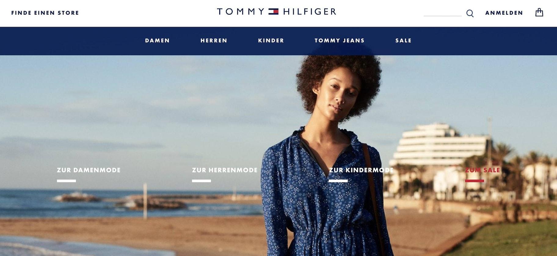 Tommy Hilfiger online store
