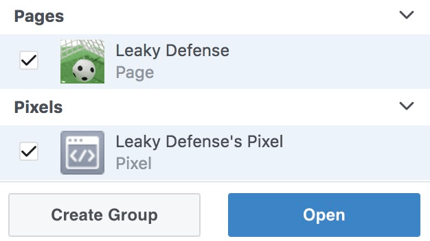 Merging Facebook pixel with Facebook page