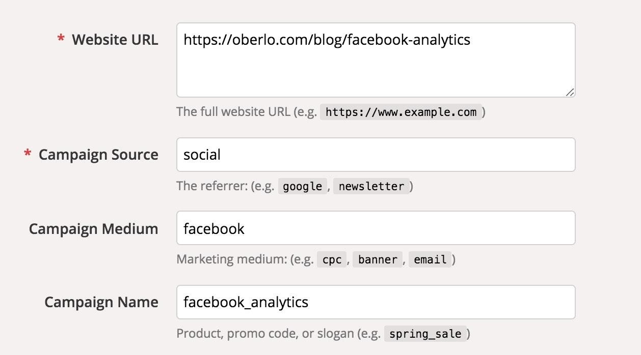 Google Analytics Facebook attribution
