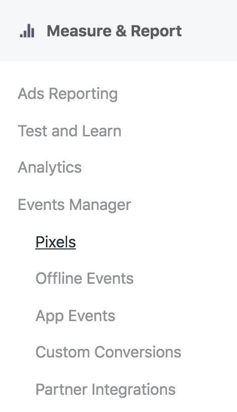 find Facebook pixel ID