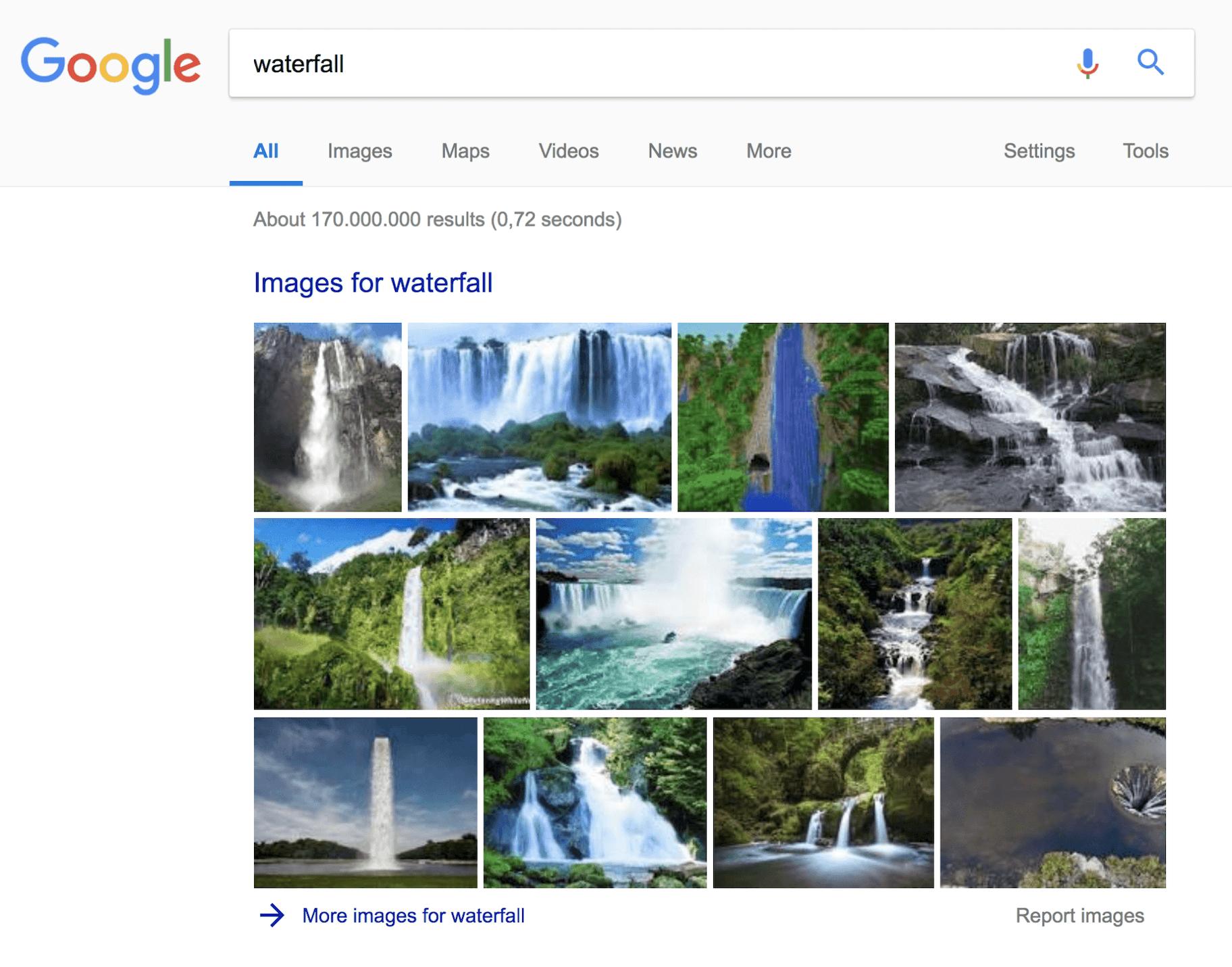 Google Image Snippet