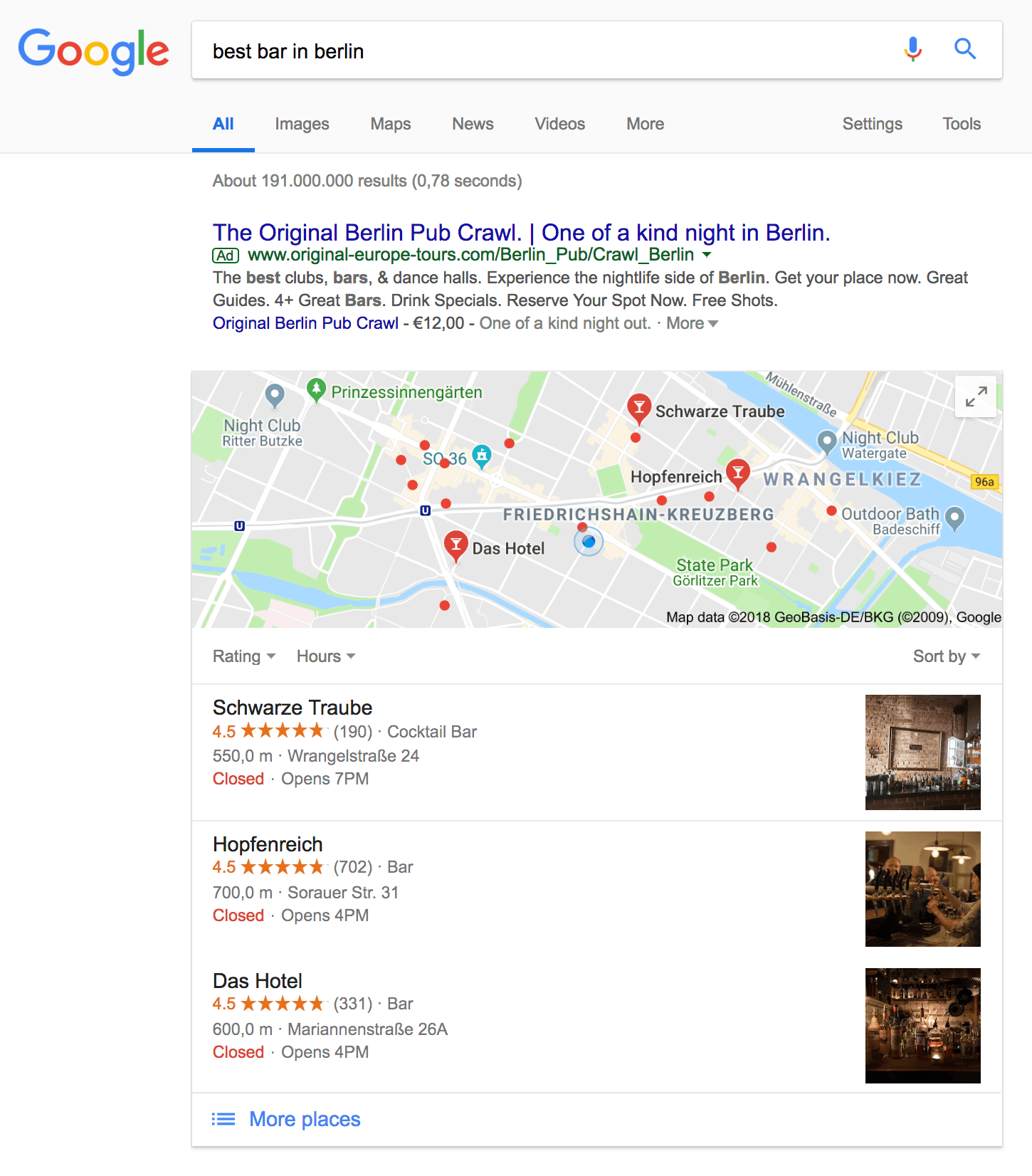 Google Maps Snippet
