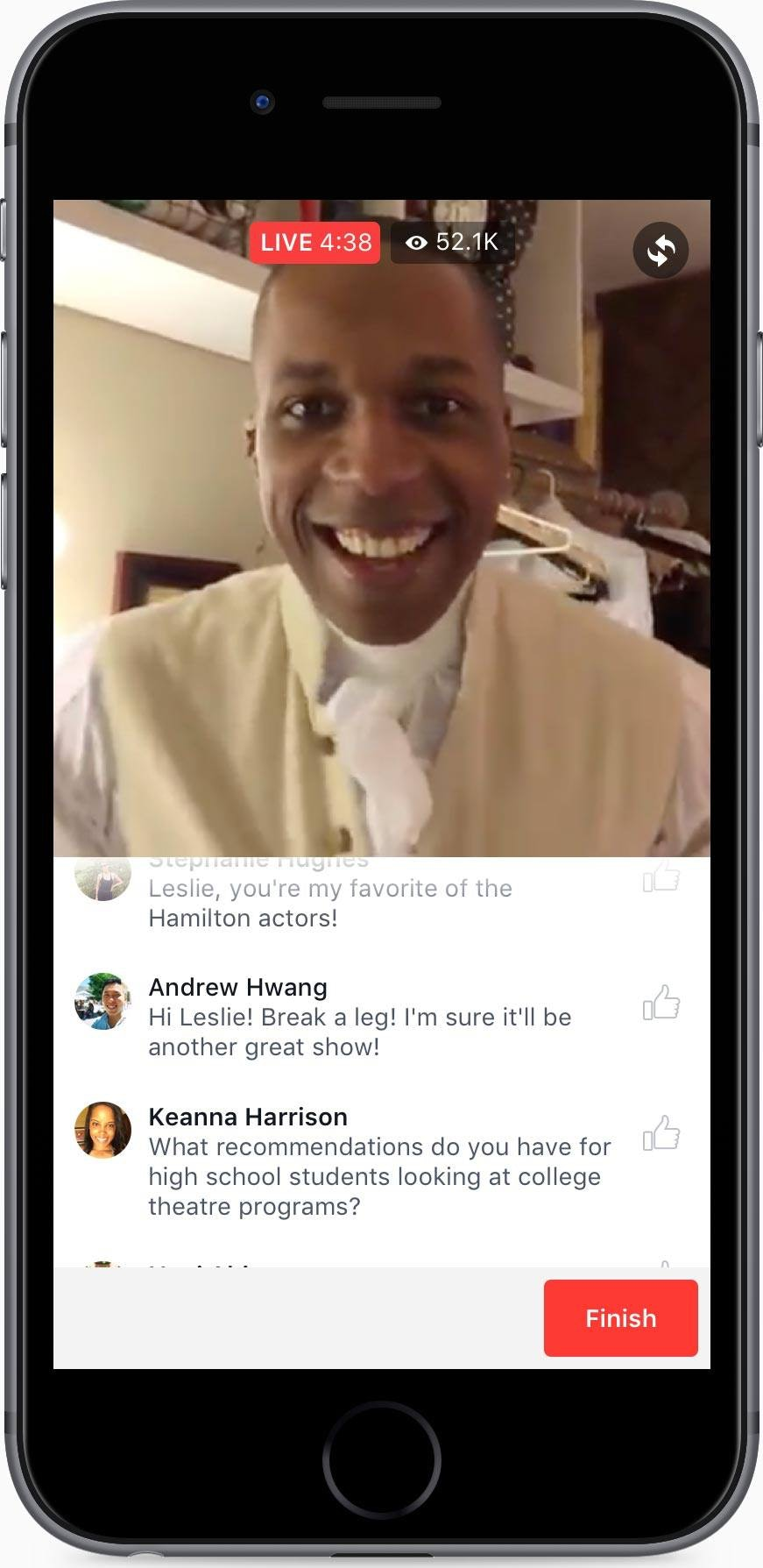 Q&A Facebook Live Video