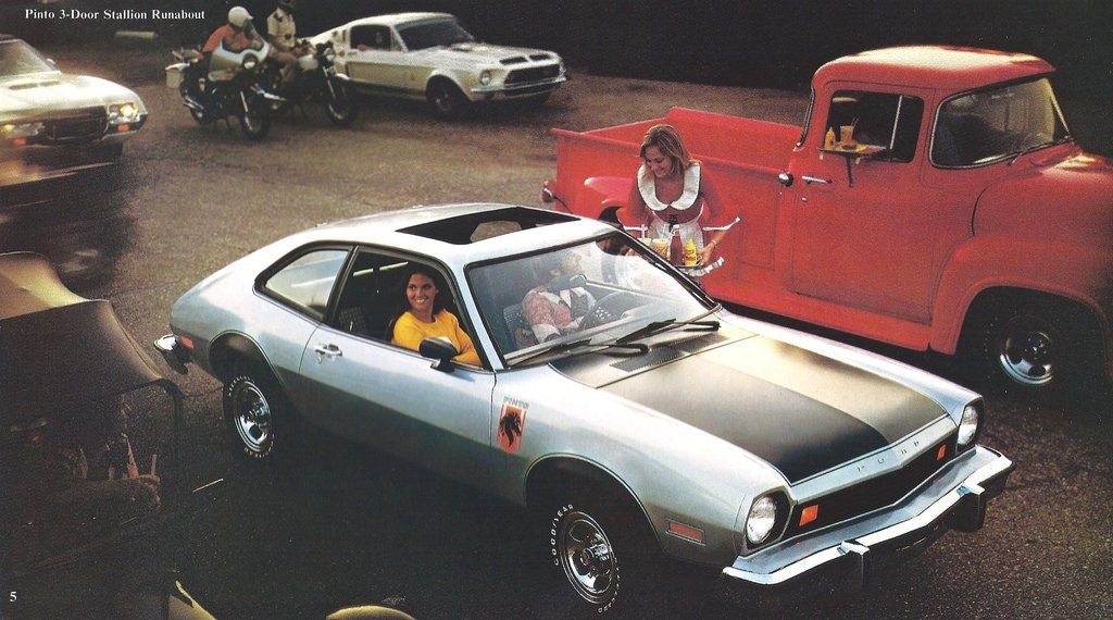 Ford Pinto Psychographics