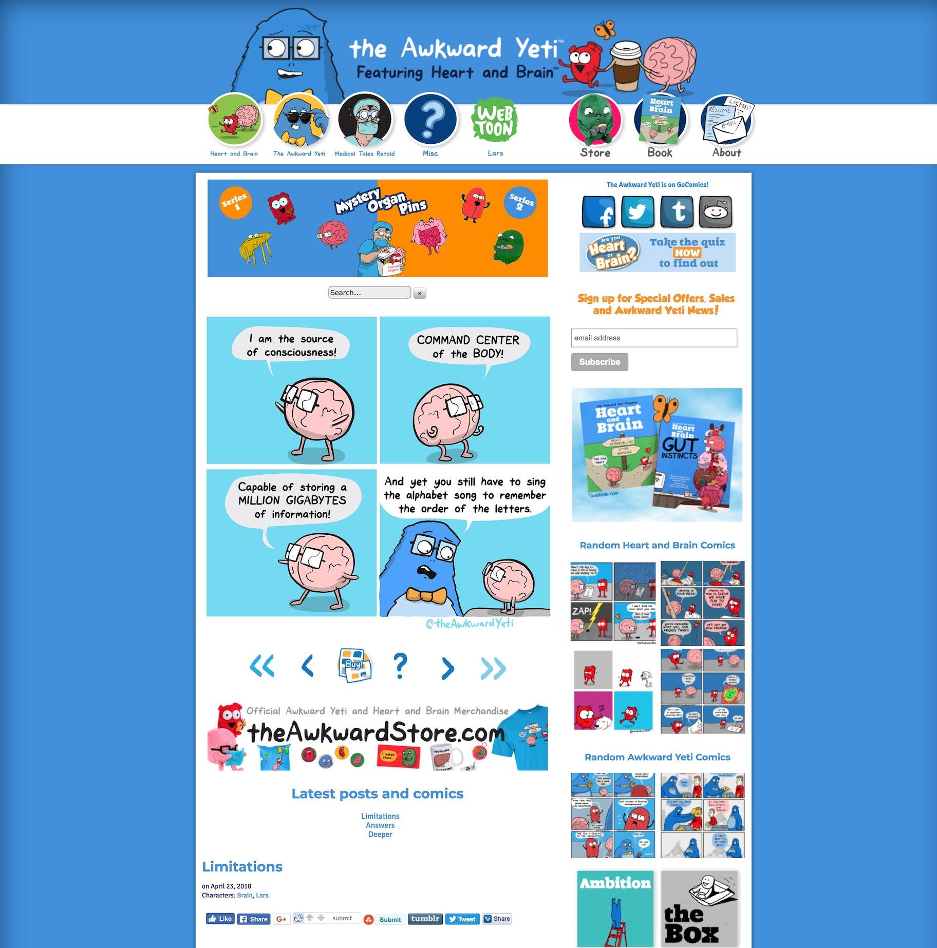 blog website examples