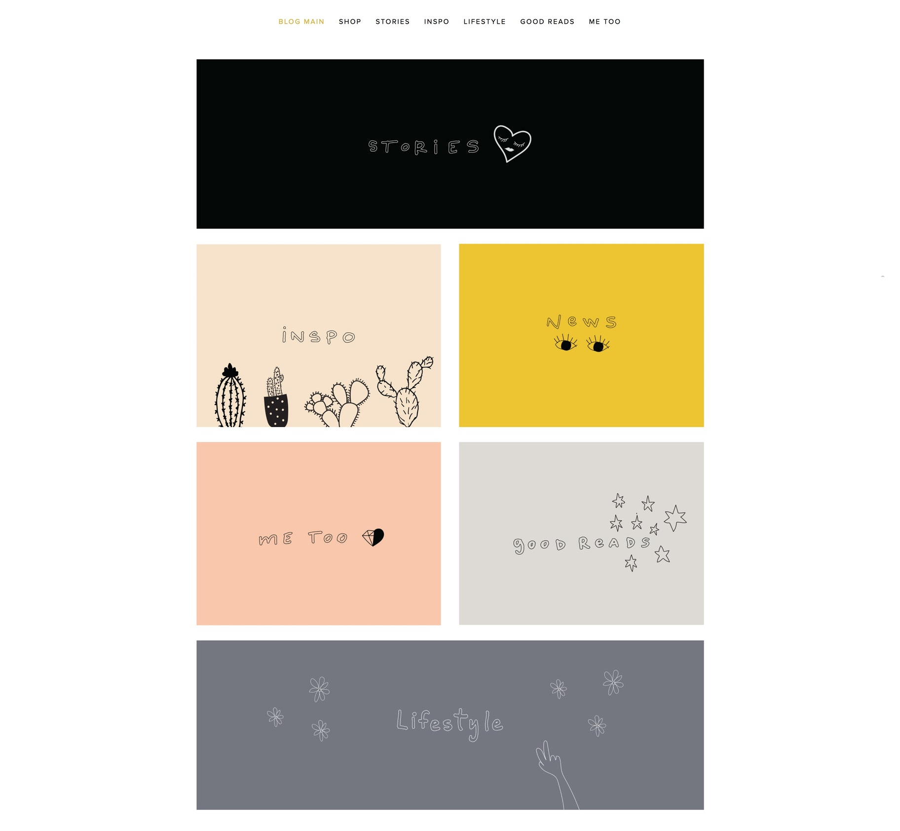 nice blog design