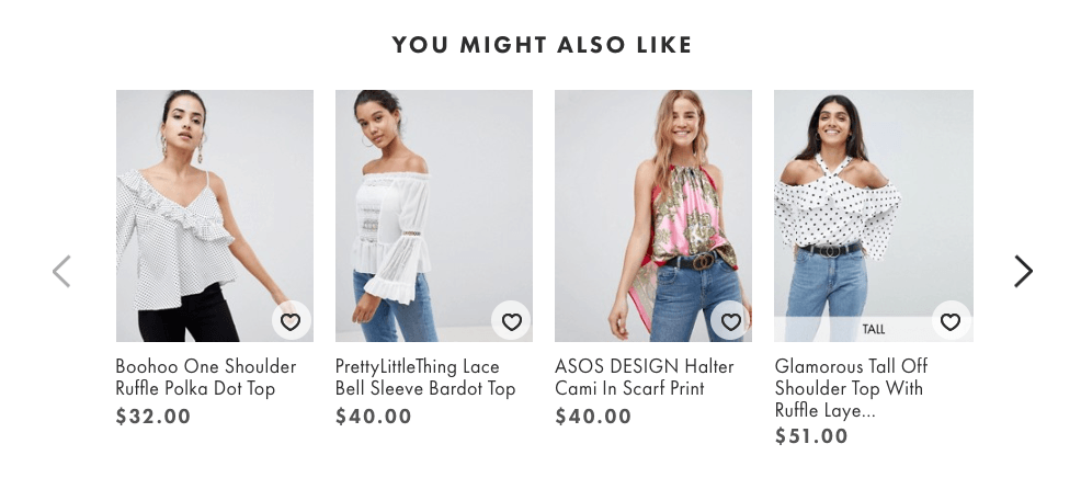 Asos Cross-Sell