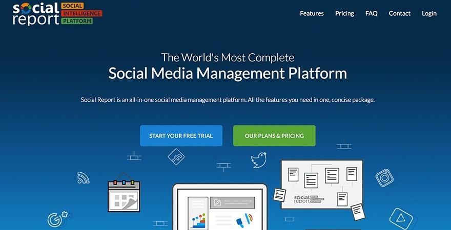 Social Report - social media tools
