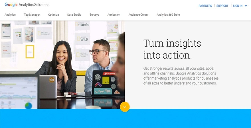 Google Analytics - social media tools