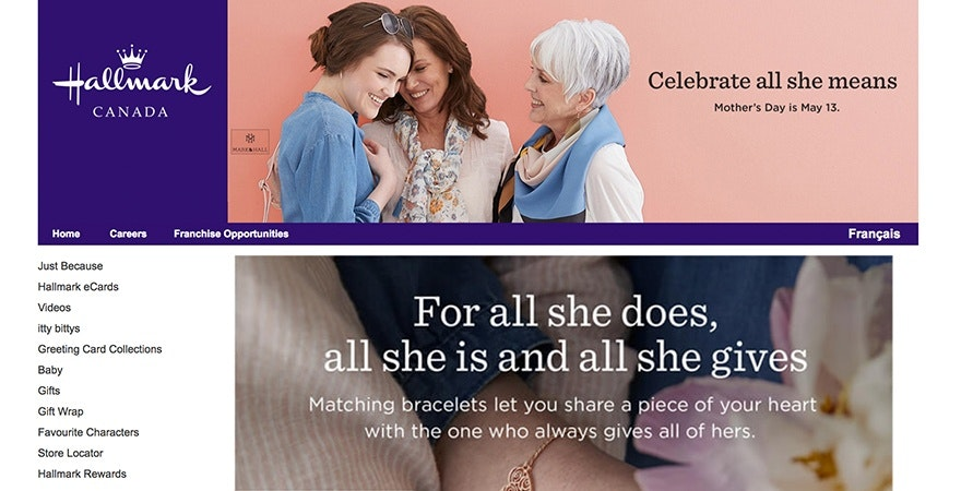 Hallmark - color meaning purple