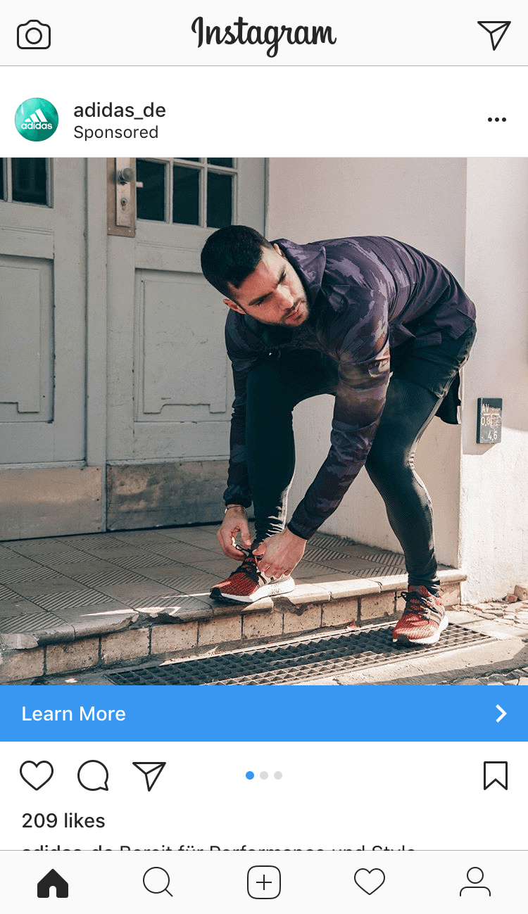 facebook pixel retargeting ad