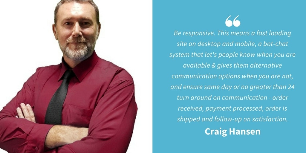 Ecommerce Quotes - Craig Hansen