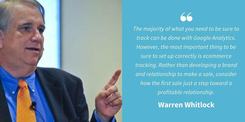 Ecommerce Quotes - Warren Whitlock