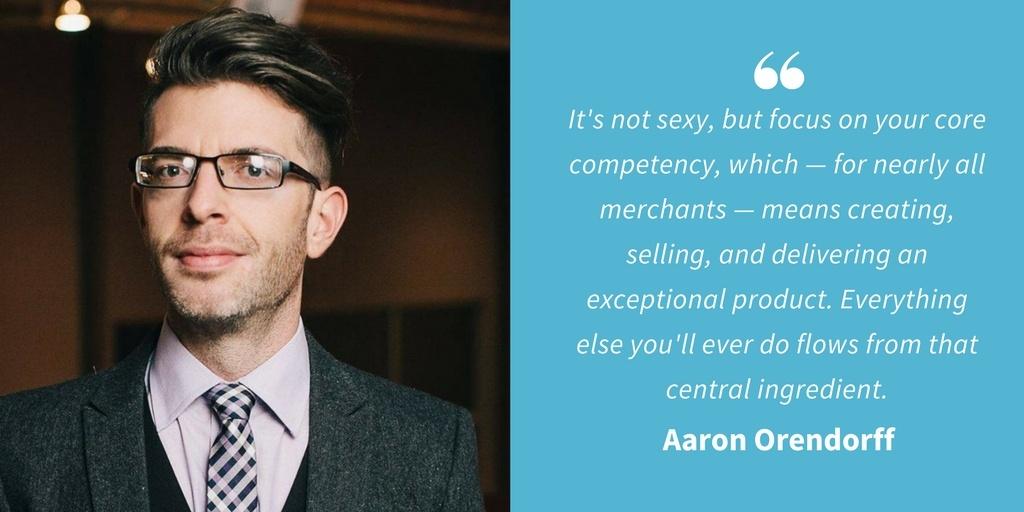 Ecommerce Quotes - Aaron Orendorff