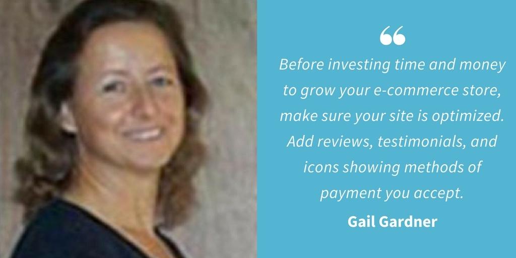 Ecommerce Quotes - Gail Gardner