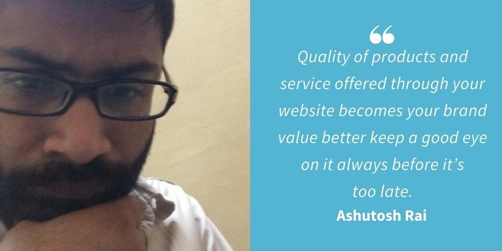 Ecommerce Quotes - Ashutosh Rai