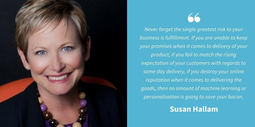 Ecommerce Quotes - Susan Hallam