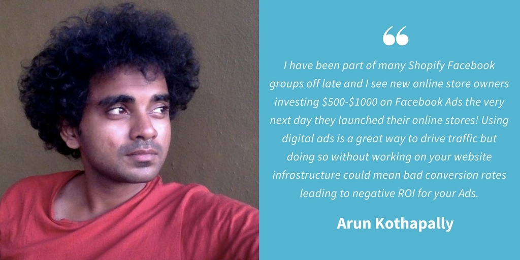 Ecommerce Quotes - Arun Kothapally
