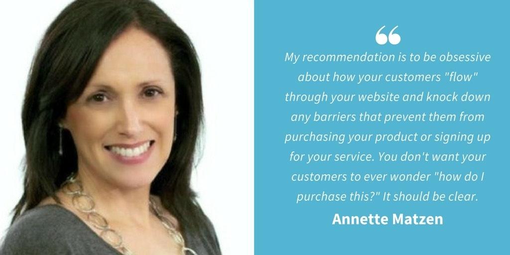 Ecommerce Quotes - Annette Matzen
