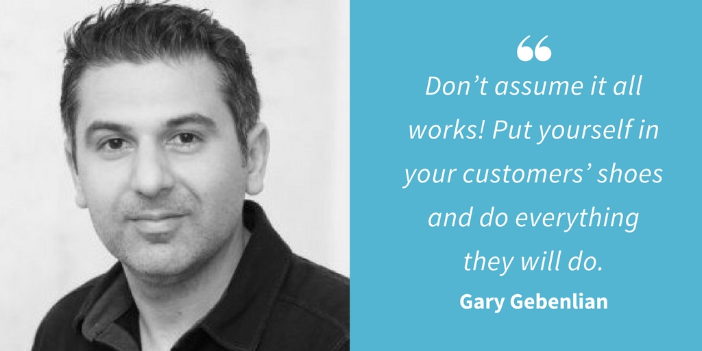 Ecommerce Quotes - Gary Gebenlian